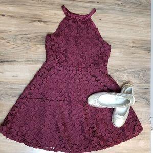 BARDOT JUNIOR WINE DRESS